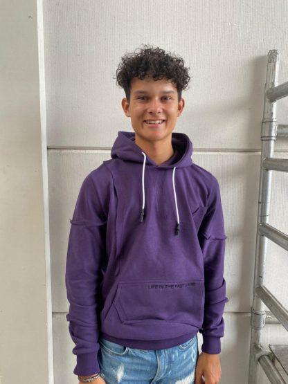 AH6 Inside Out Hoody purple
