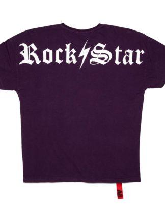 AH6 Rockstar Tee purple