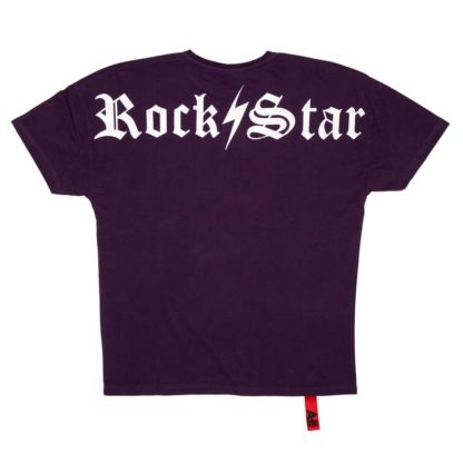 AH6 Rockstar Tee purple