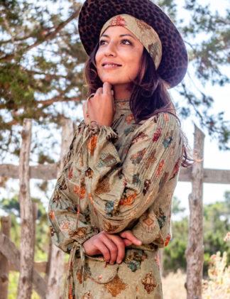 Isla Ibiza Bohemian blouse
