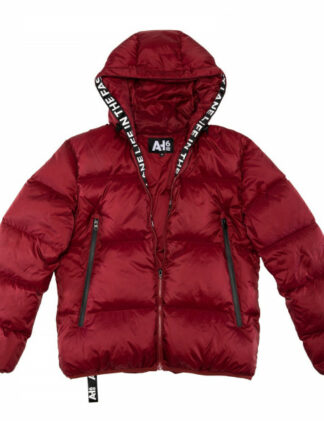 AH6 Down Jacket dark red