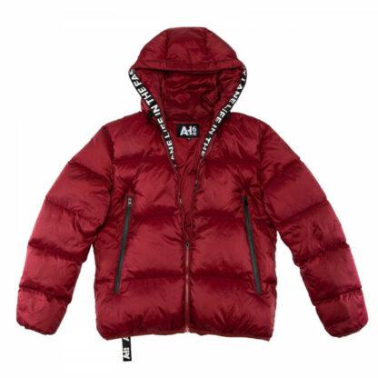 AH6 Down Jacket dark red
