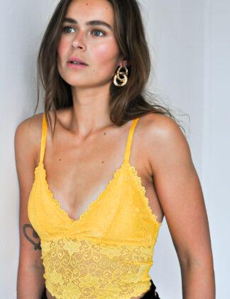Harper & Yve Bralette yellow