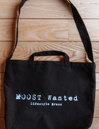 Moost Wanted Canvas Bag black