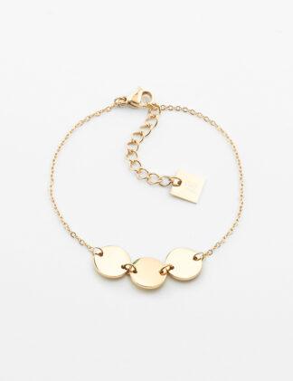 ZAG Cardin Bracelet – Gold-plated steel