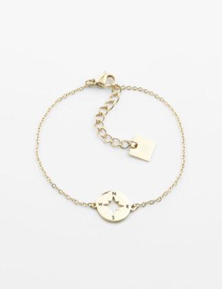 ZAG Storm Bracelet – Gold-plated steel