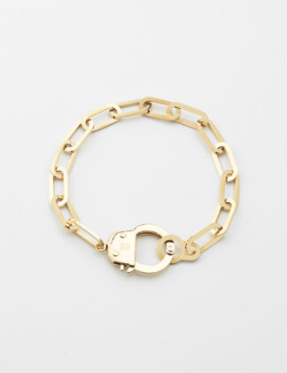 ZAG Hook Bracelet – Gold-plated steel