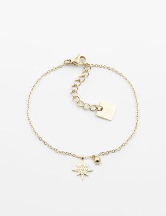 ZAG Magellan Bracelet – Gold-plated steel