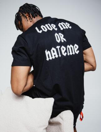 AH6 Tee Love/Hate Me black
