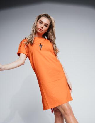 AH6 T-Dress Women orange