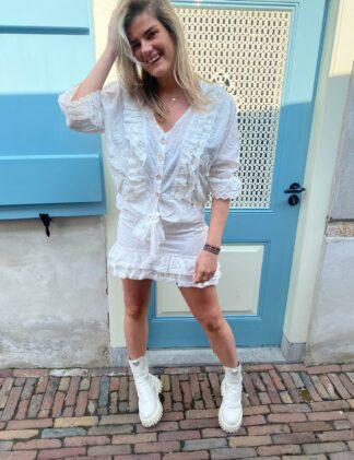 Harper & Yve Blake Skirt off-white
