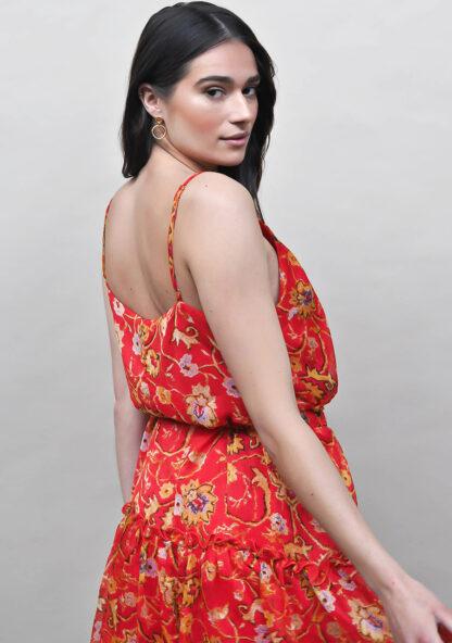 Harper & Yve Britt Dress red
