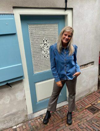 Harper & Yve Cara Blouse blue