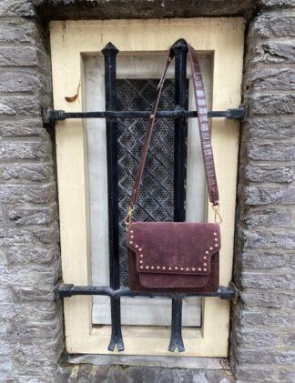Harper & Yve Croco Bag brown